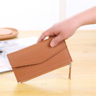 Long Wallet Women Purses Fashion Coin Card Holder Clutch Money Bag PU Leather