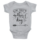 My First Mother Day Arrow Shirt First Mothers Day Shirt Mom, Baby Gift