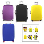 Protect Luggage Suitcase Dust Cover Protector Elastic Anti Scratch Multi-Color