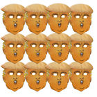 DONALD TRUMP PRESIDENTIAL NOVELTY FACE MASK WITH HAIR FANCY DRESS MASK LOT