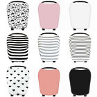 Multi-Use Newborn Baby Kids *Car Seat Cover Stretchy Soft Care Canopy Cart Cover
