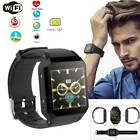 Smart Watch SIM GPS WiFi Heart Rate Monitor Bluetooth Camera For iPhone Samsung