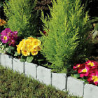 1/4 Pcs Garden Lawn Edging Picket Border Panel Wall Path Fence Latest A33