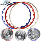 Heavy Duty Wheel Guard Rim Protecting Trim Ring 19inch Red / White / Blue $50.99 USD on eBay