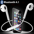 Wireless Bluetooth Earphone Headphones Headset Sports Stereo Universal EarphoneE