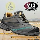 V12 Turbo Safety Boots Trainer Shoe Composite Metal Free Vegan Friendly V1930