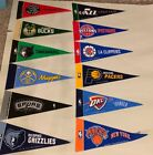 "NBA Basketball Teams Mini Pennants Pick Your Team 4""x9"" Rico on eBay"