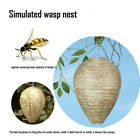 3X Anti Wasp Simulated Paper Decoy Wasp Nest Hanging Tree Pest Control Bee Fake