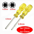 3.8mm + 4.5mm Screwdriver Bit for NES SNES N64 Game Boy Nintendo Security Tool