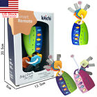 US Baby Car Key kids Musical Keys Baby's Sound and Light Pretend Toy Keychain