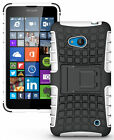 NEW GRENADE GRIP RUGGED TPU SKIN HARD CASE COVER STAND FOR NOKIA LUMIA 640 PHONE