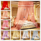 Round Lace Bed Netting Canopy Curtain Dome Insect Mosquito Net Princess Twin image