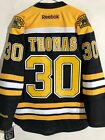 Reebok Premier NHL Jersey Boston Bruins Tim Thomas Black sz M $9.99 USD on eBay