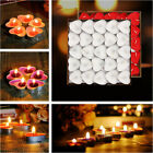 50Pcs Romantic Decor Heart Shaped Candles Candles Birthday Marry Christmas Gift