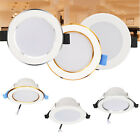 7W Dimmable LED Recessed Ceiling Downlight Cool Neutral Warm White Lamps SS855