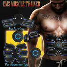 US Rechargeable ABS Simulator EMS Training Smart Body Abdominal Muscle Exerciser image