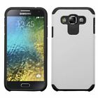 Dual Layer Colors Hybrid Cover Phone Protector Case For Samsung Galaxy E5