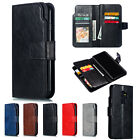 Leather Wallet Flip Case Phone Cover Skin For Samsung Galaxy S9 A6 A8 J4 J6 2018