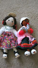TWO VINTAGE DOLLS COLOMBIA