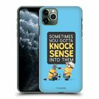OFFICIAL DESPICABLE ME FUNNY MINIONS HARD BACK CASE FOR APPLE iPHONE PHONES