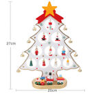 Christmas DIY Wooden Christmas Tree Ornament Gift For Children Home Table