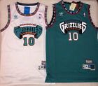 Mike Bibby 10 Hardwood Classics Throwback Vancouver Grizzlies Teal White Jersey