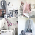 Princess Baby Girl Bedding Dome Cotton Tent Bed Canopy Hanging Dome Net Curtain image