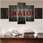 USA SELLER! Back/Framed Canvas Print Spray Painting Sports Ottawa Senators 5 Pc $69.72 USD on eBay