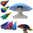Foldable Sun Umbrella Hat Golf Fishing Camping Headwear Cap Head Hat for Outdoor