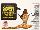 Vintage Movie Poster James Bond Casino Royale £16.99 GBP on eBay