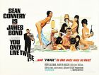 Vintage Movie Poster James Bond - You Only Live Twice £16.99 GBP on eBay