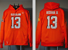 Odell Beckham Jr Cleveland Browns Jersey Hooded Sweatshirt Embroidered Hoodie $59.99 USD on eBay