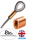 Copper Ferrule Talurit Rope Crimping Sleeves 2mm 3mm 4mm 5mm 6mm 8mm 10mm