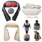 Electric Shiatsu Back and Neck Kneading Shoulder Massager Heat Straps Healthy US $20.99 USD on eBay