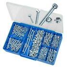 Zinc M3 M4 M5 M6 Cheese Head Machine Screws & Nuts TORRES Assortment Kit #HAK08