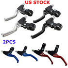 1Pair Cycling Lightweight Alloy Disc Cluth Brake Levers Bike Bicycle BMX MTB New