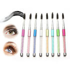 AU_ Rhinestone Eyelash Brush Cosmetic Mascara Applicator Spooler Lady Makeup Too