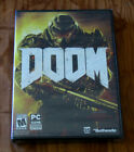 Doom (PC, 2016) NIB, Sealed. Never installed. Never used. DVD