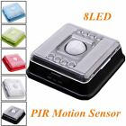 8 LED Light Lamp PIR Auto Sensor Motion Detector Wireless Infrared Home Outdoor