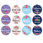 36pcs Baby Floral Monthly Photograph Stickers Month 1-12 Milestone Sticker
