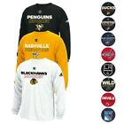 NHL Adidas Men's Authentic Climalite Performance Long Sleeve T-Shirt Collection $23.4 USD on eBay