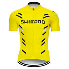 2019 Mens Bike Cycling Jersey Short Sleeve Tops Bicycle Shirt Maillots Pockets