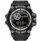 SMAEL Men's Tactical Digital LED Sport Luminous Waterproof Quartz Military Watch image