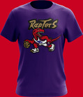 Men's Toronto Raptors Purple  Retro Logo2019 T Shirt  S-2XL on eBay