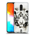 HEAD CASE DESIGNS BLACK & WHITE ANIMALS GEL CASE FOR AMAZON ASUS ONEPLUS