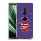 OFFICIAL ARSENAL FC 2018/19 CREST KIT GEL CASE FOR SONY PHONES 1