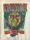 Hot VTG 1994 Woodstock 25 Year Anniversary Concert Distressed Gildan Reprint image