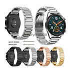 Bandkin Solid Stainless Steel Watch Band For Huawei Watch GT Wrist Watch Strap image