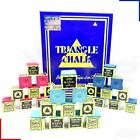 Triangle Snooker Pool Billiards Cue Chalk Green, Blue or Red - 1 - 24 Cubes £1.99 GBP on eBay