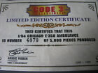 Code 3 Chicago Certificate of Ambulance 12056